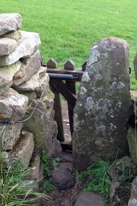 A very narrow gate