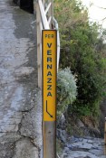 The sign in Monterosso Al Mare