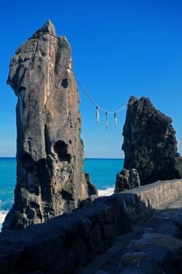 Meoto Rock (couple rock)