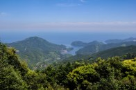 The view from the top of Mt Yaki-yama on the Iseji route