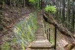 Trail maintenance on the Kohechi trail