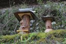 Cute bee-hives in Miura on the Kohechi trail