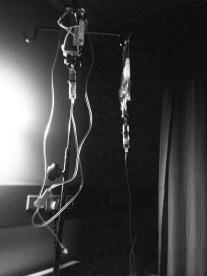Hanging IV lines
