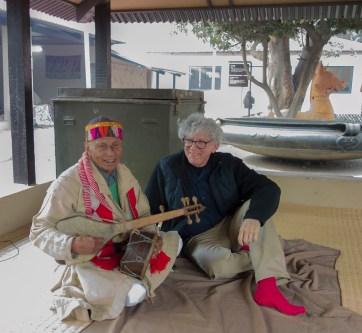 Alan with Gadi performer Shri Rajinder Singh