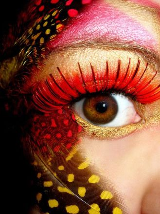 eye-make-up-party-trucco-carnevale-occhi-feathers-2