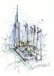 Daniel Libeskind studio ground zero