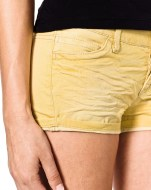 shorts denim colorato