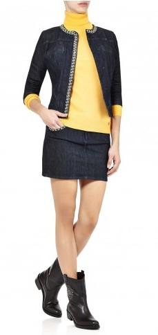 liu-jo-cachemire-dolcevita-giallo-indossato