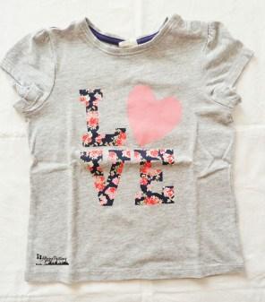 H&M T-shirt Love