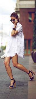 camicia-bianca-outfit-white-shirt-come-vestito