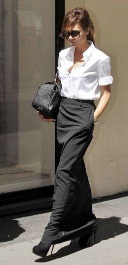 camicia-bianca-outfit-white-shirt-maxi-gonna-victoria-beckham