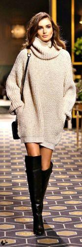 autunno-tempo-di-maglioni-come -abbinarli-maglione-vestito-sfilata