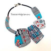 duecentogrammi-gioielli-pasta-polimerica-dettaglio-collana-multicolore-nuova-4