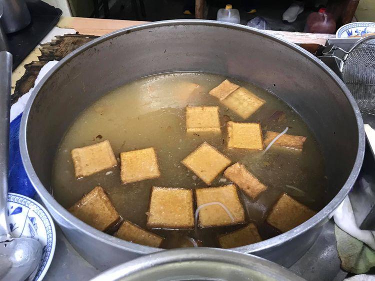 阿嬤的米粉湯,南港必吃美食,捷運後山埤站銅板美食