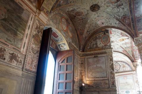 Inside the town hall in Piazza della Signoria