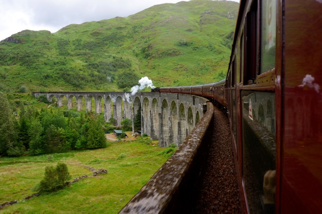 Glen Viaduct aka the shot of the train you see in Chamber of Secrets
