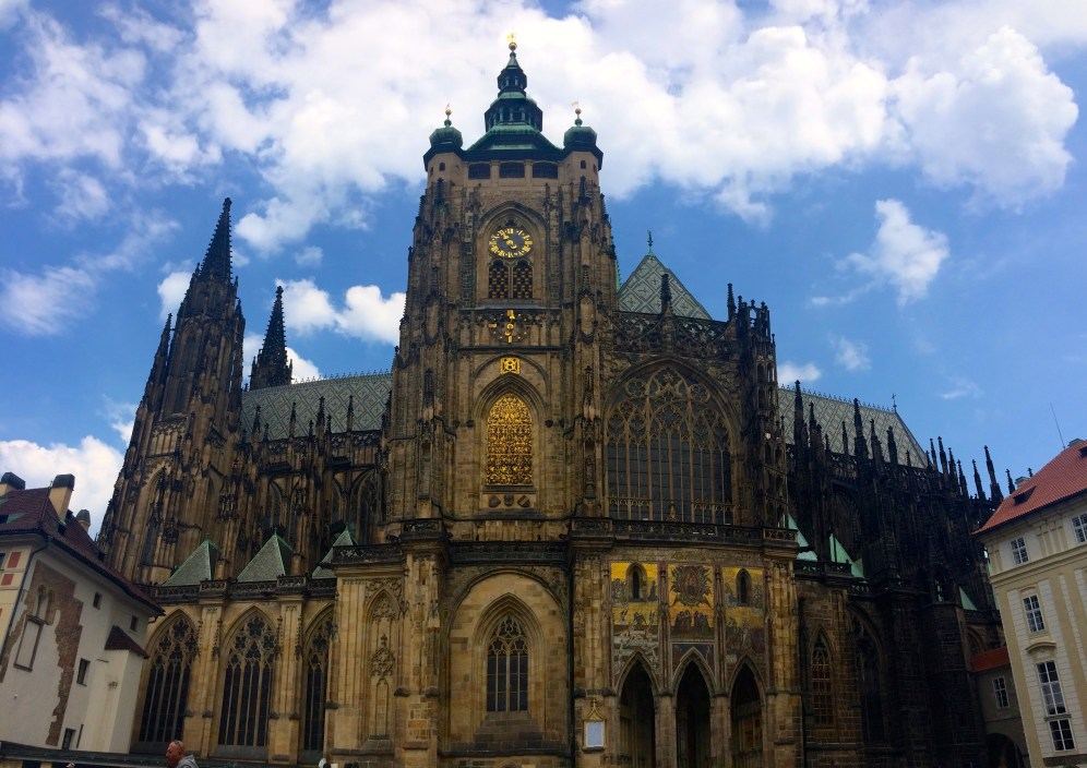 St. Vitus Cathedral - just took a quick 600 years to build...