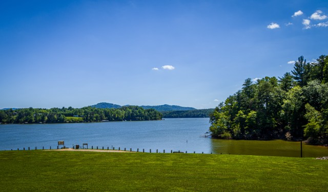 Swimming is also one of the awesome outdoor activities at Kerr Scott Dam
