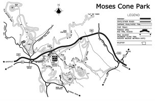 One of the most loved activities when exploring Moses H Cone Park