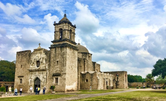 Best weekend road trips from Houston to visit - San Antonio Missions
