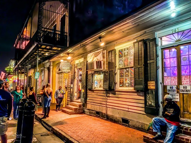 Marie Laveau's House of VooDoo in New Orleans