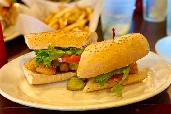New Orleans is known for great Po'Boy Sandwiches