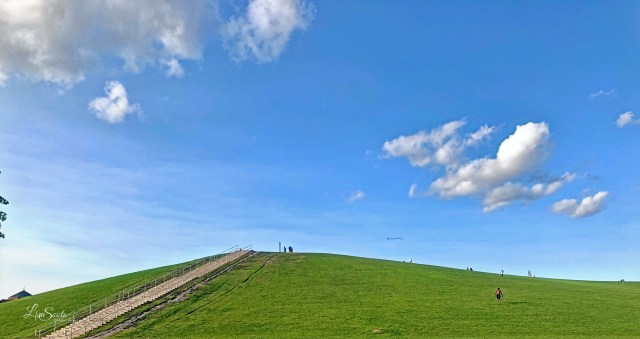 Mount Trashmore is a fantastic free or low cost way to spend the day.