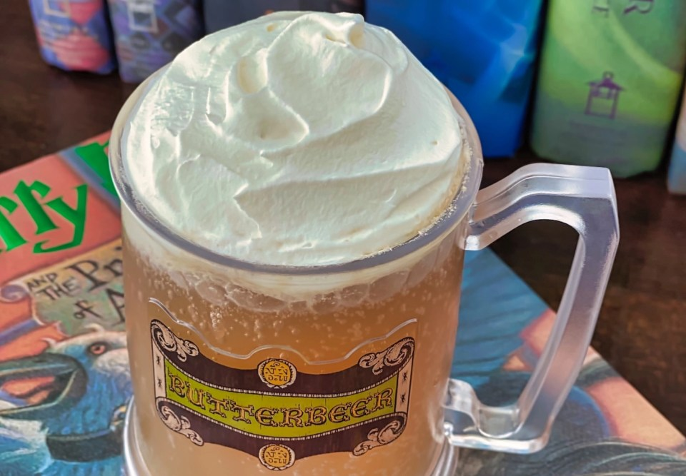 Butterbeer Recipe - Close Ups