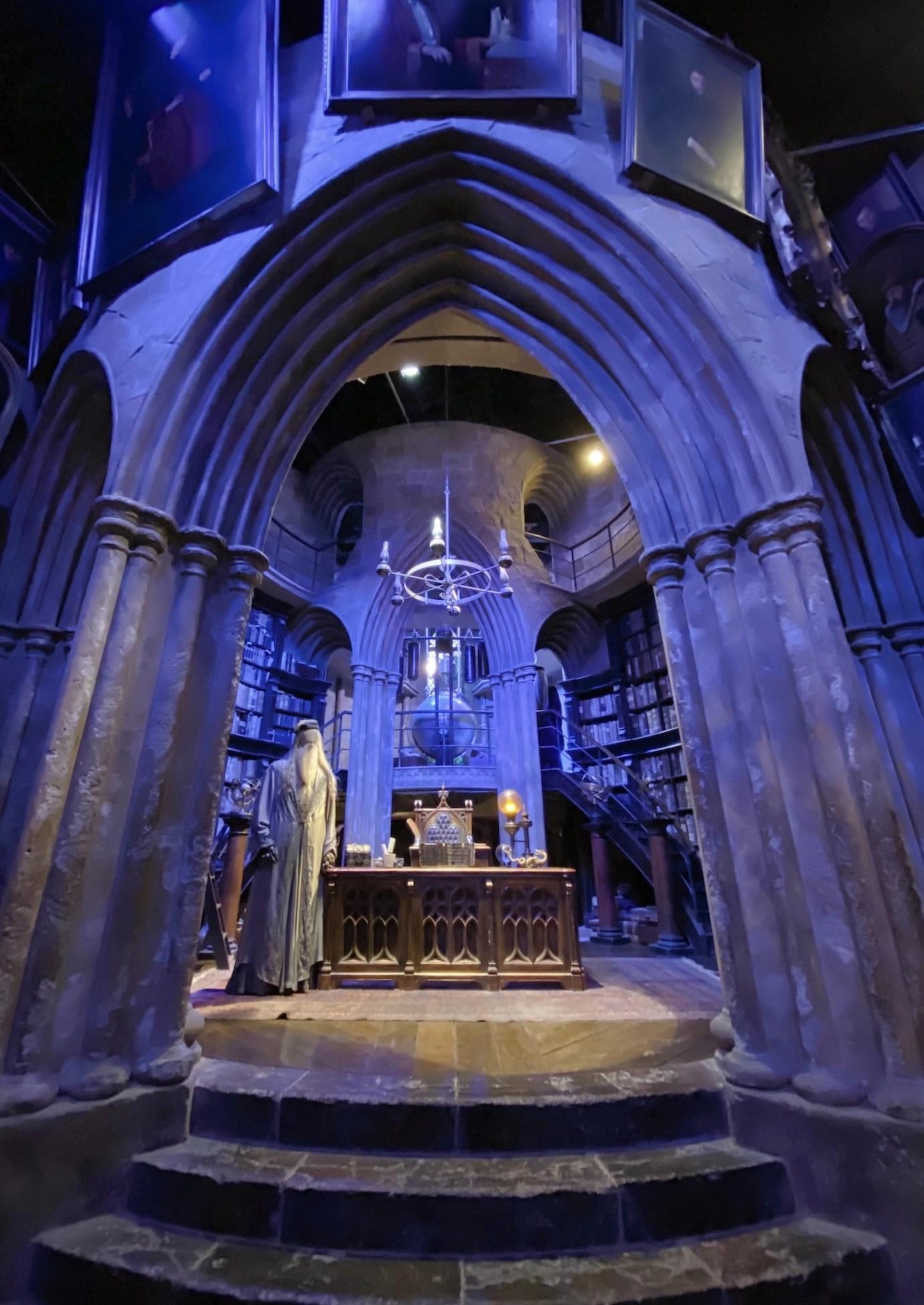Harry Potter Studio Tour - Dumbledore's Office