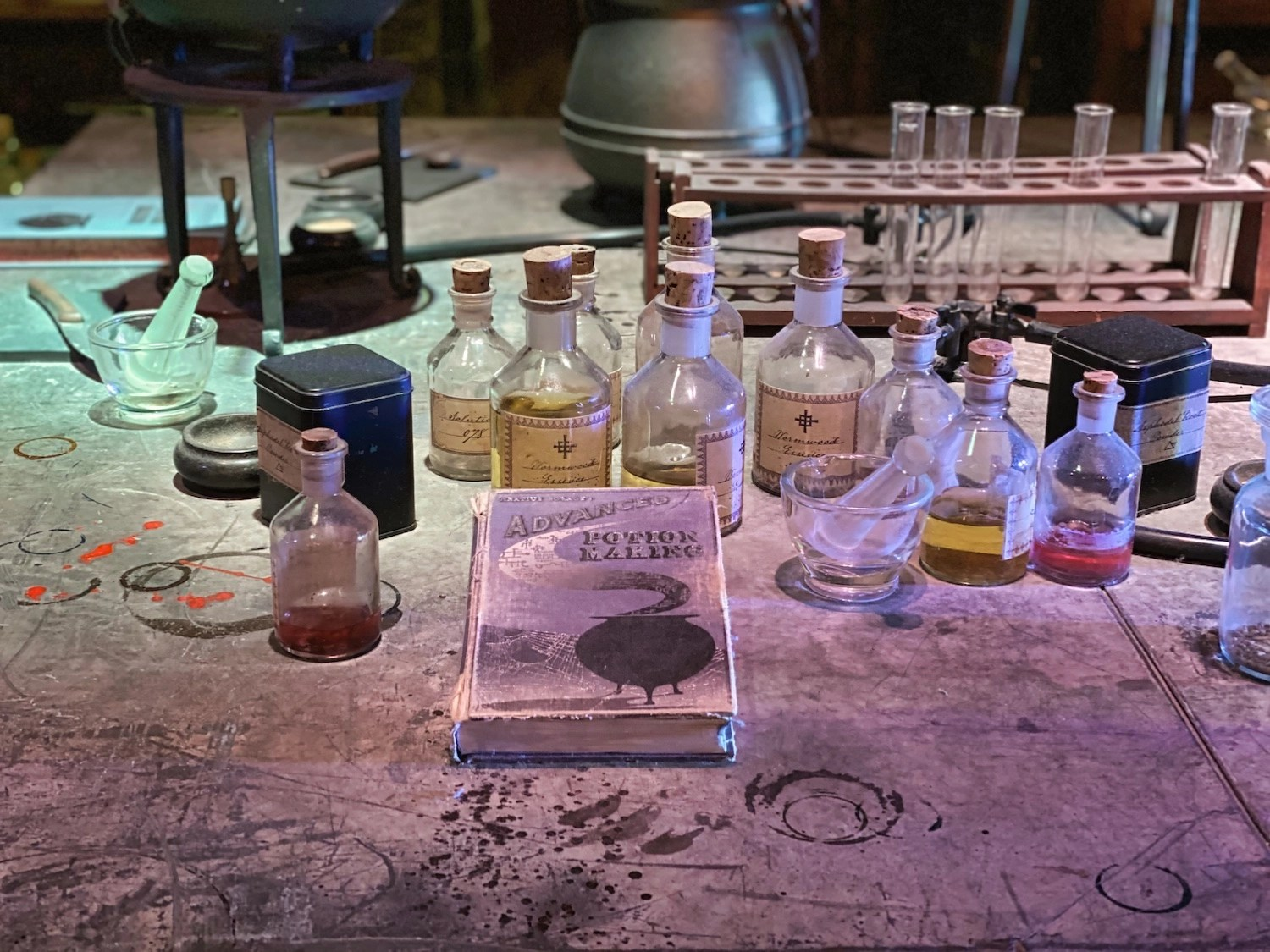 Harry Potter Studio Tour - Potions Classroom