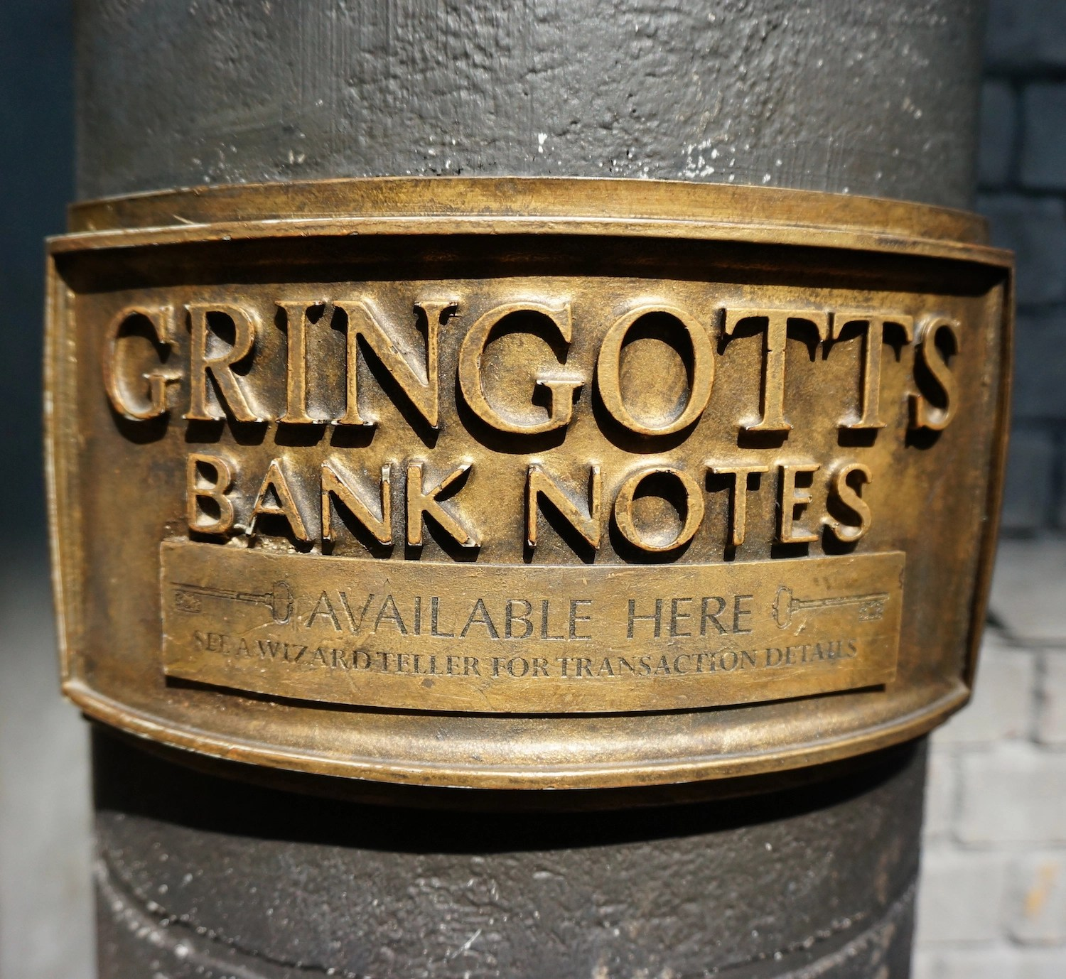 Virtual Visit to Wizarding WOrld - Gringotts