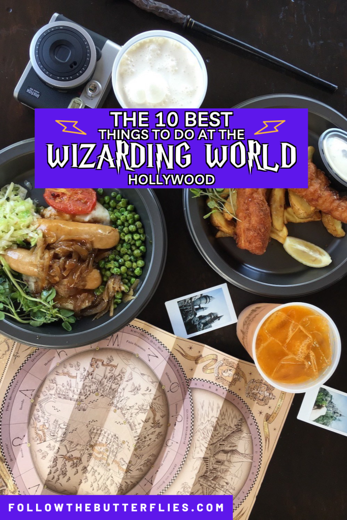 Wizarding World Hollywood Pin
