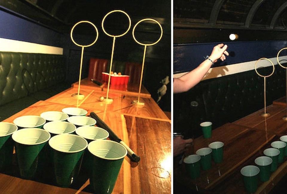 Beer Pong Quidditch