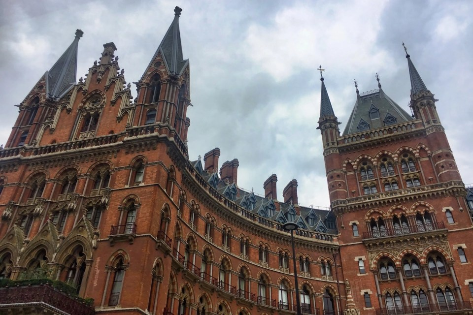 Harry Potter Film Locations in London - St Pancras