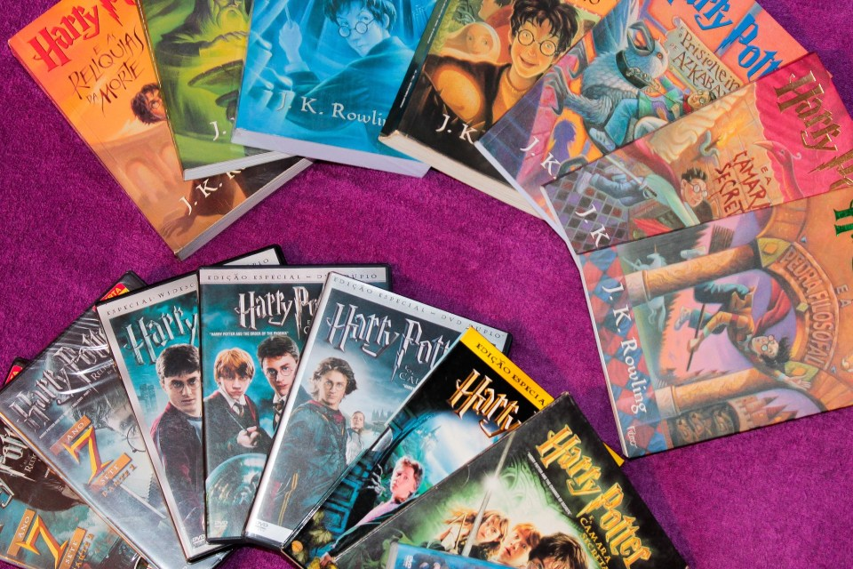 Harry Potter Collection - Lua Pramos via Flickr
