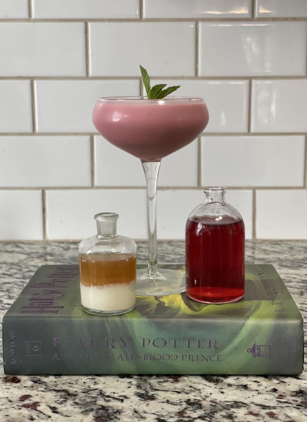 Amortentia Potion & Book