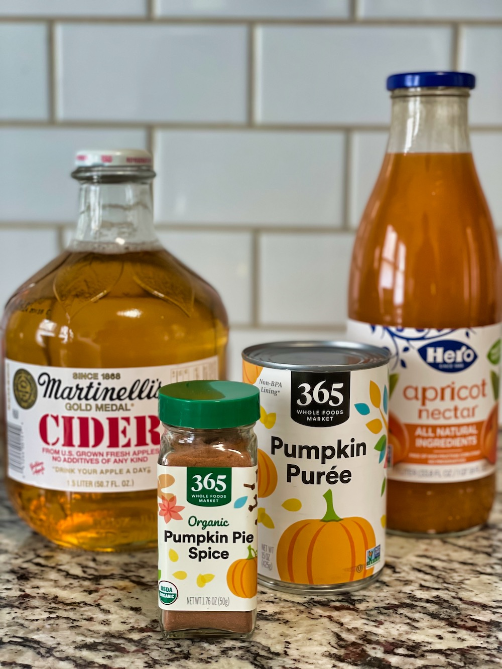 Pumpkin Juice - Recipe Ingredients
