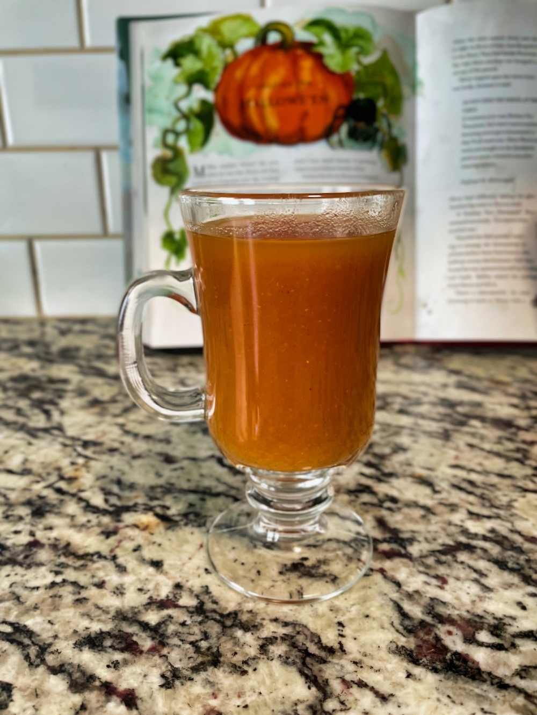 Pumpkin Juice - Recipe Final Glass