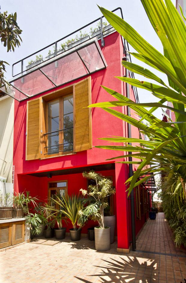 Resultado de imagem para fachada coral tintas roxo total