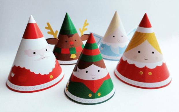 decoração diy natal enfeites para imprimir