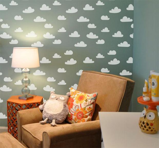 follow-the-colours-stencil-nuvem-parede-DIY-10