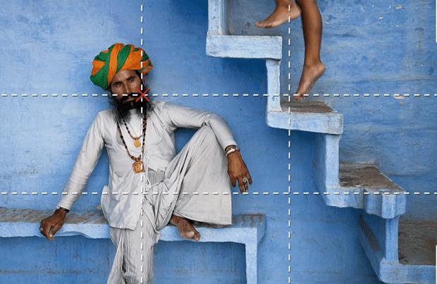 Fotografia dicas perfeita regra dos terços
