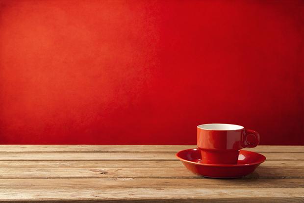 Vermelho cores xícara shutterstock_120393643