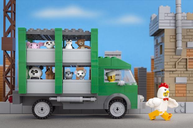 Jeff Friesen Banksy Lego