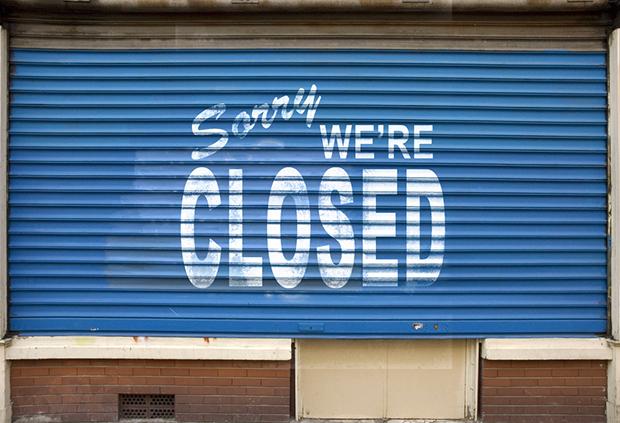 Azul placa garagem