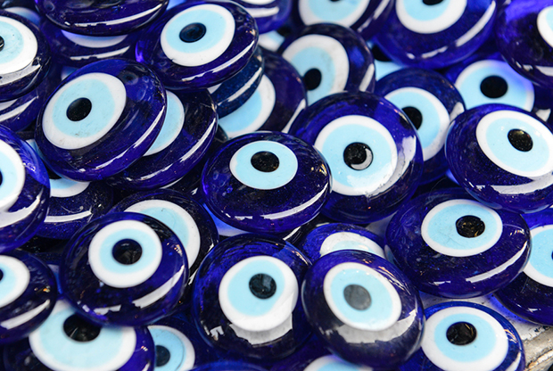 azul olho grego