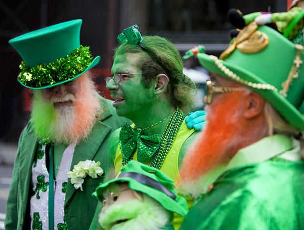 Significado cor verde St Patricks Day Irlanda