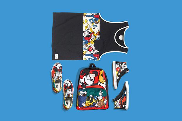 Vans Disney Coleção Young at Heart Mickey