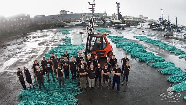 Adidas tênis materiais reciclados plástico oceano Primeknit sea shepard
