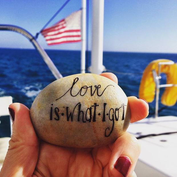 pedras projeto word rocks love